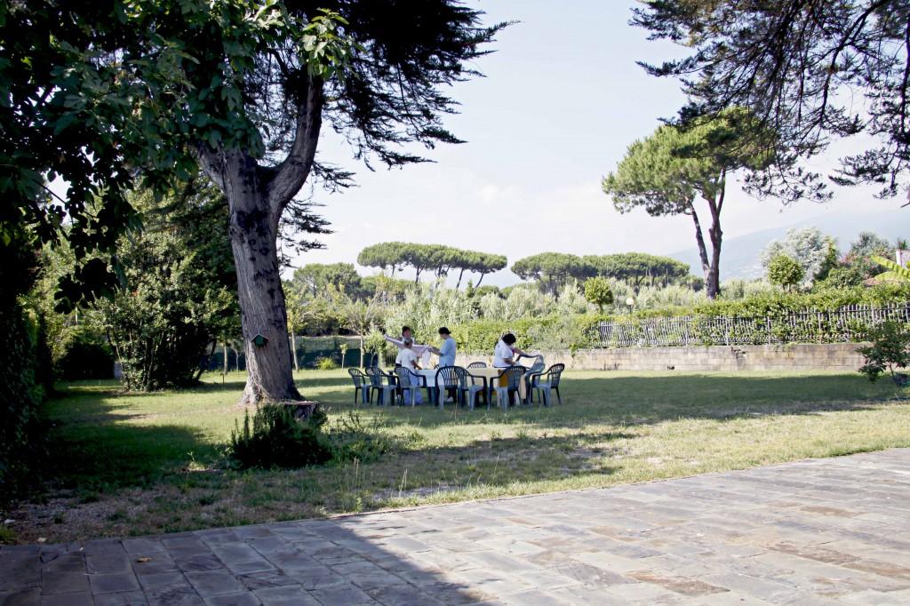 villa versilia giardino